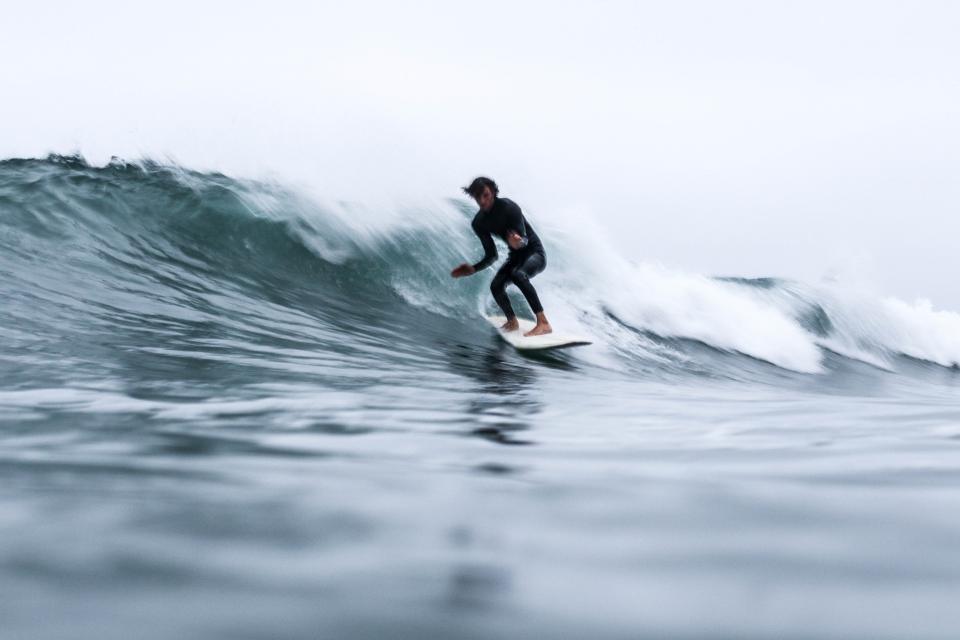 sea, ocean, water, waves, nature, surfing, people, man, sport, adventure, surfer
