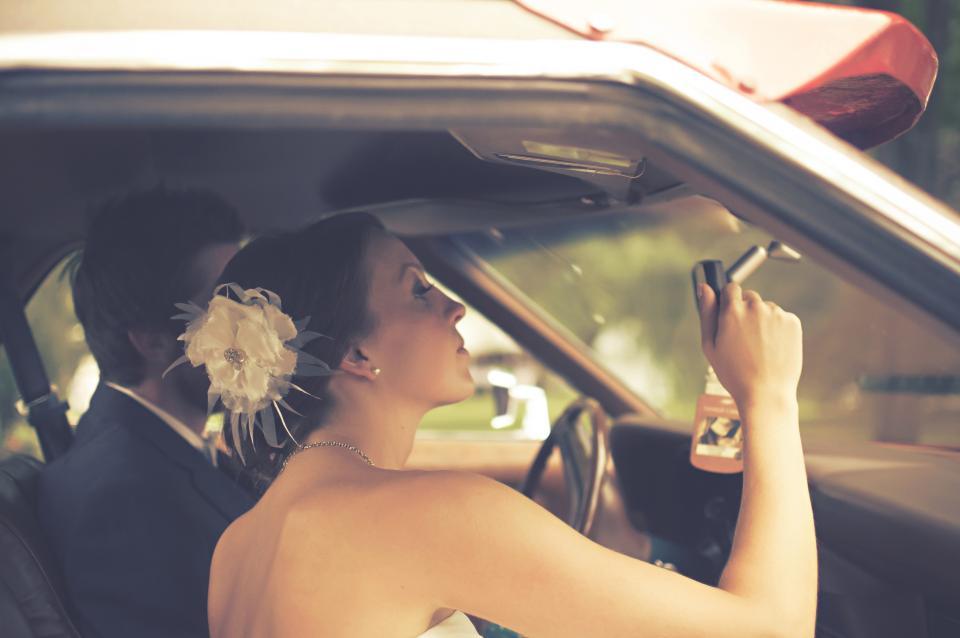 bride, groom, marriage, wedding, couple, love, romance, man, woman, people, car, family