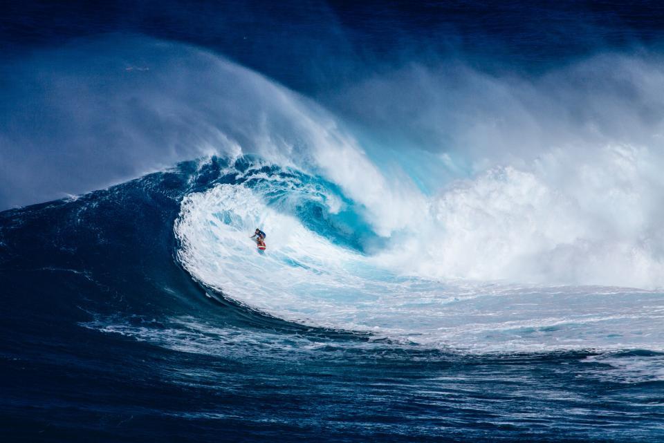 sea, ocean, blue, water, waves, nature, people, man, surfing, sport