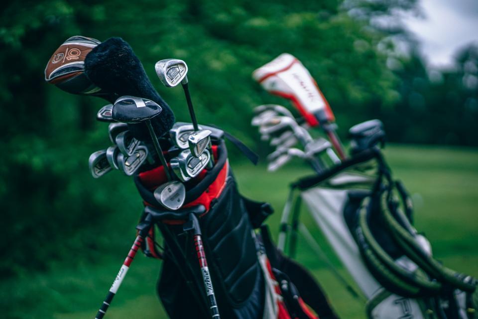 green, grass, field, outdoor, nature, blur, golf equipment, sport, game