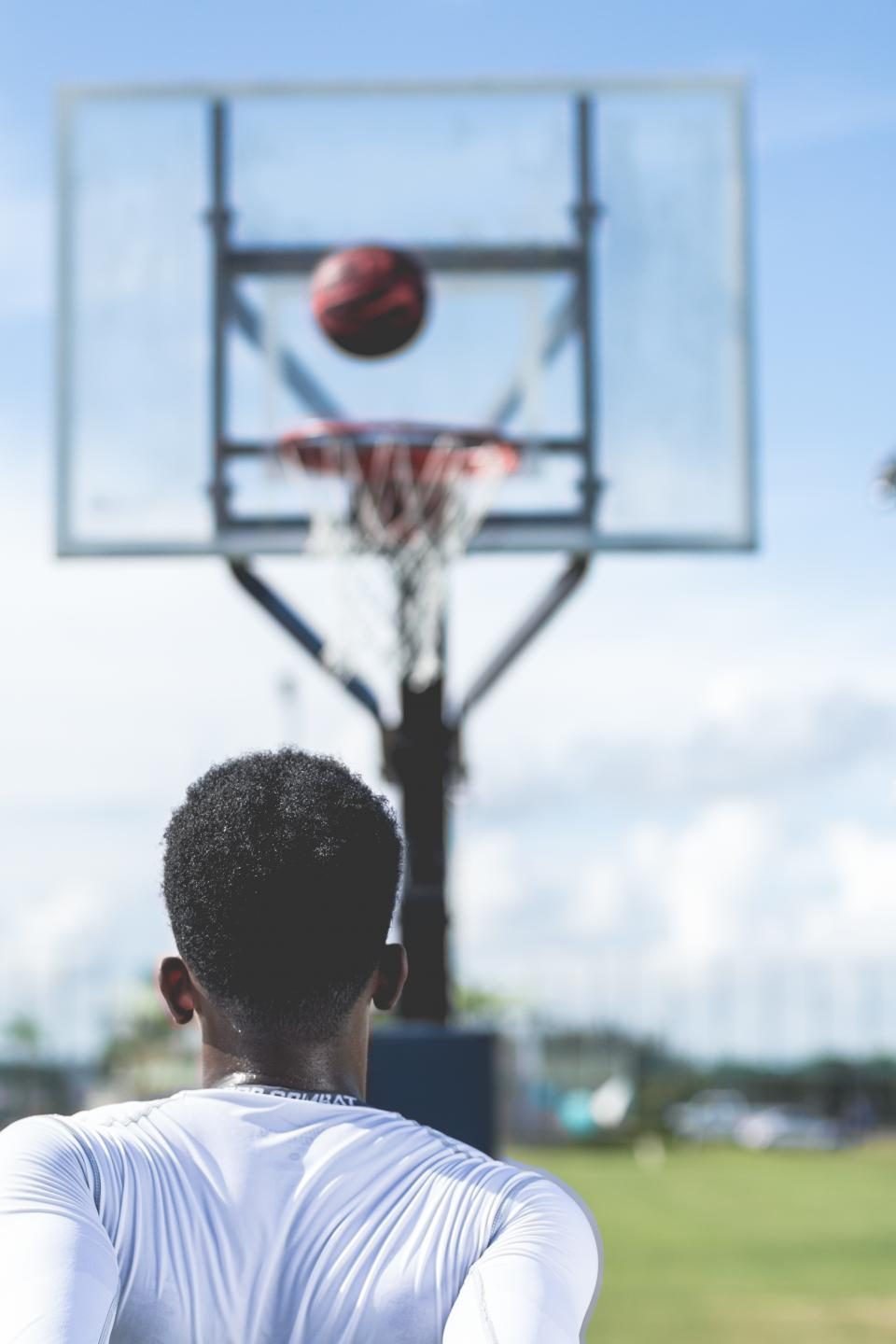 people, man, african american, curl, play, sport, court, ring, basketball, game