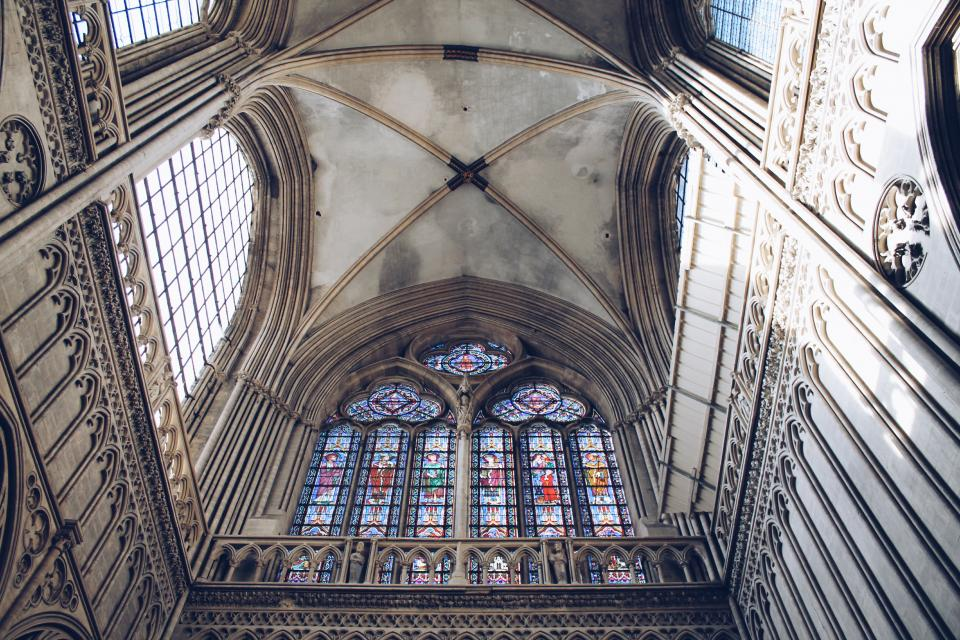 architecture, building, infrastructure, church, cathedral, art, wall, ceiling, design