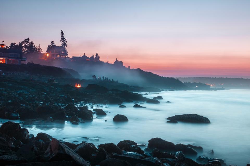 nature, landscape, ocean, sea, beach, rocks, waves, coast, white, vacation, travel, adventure