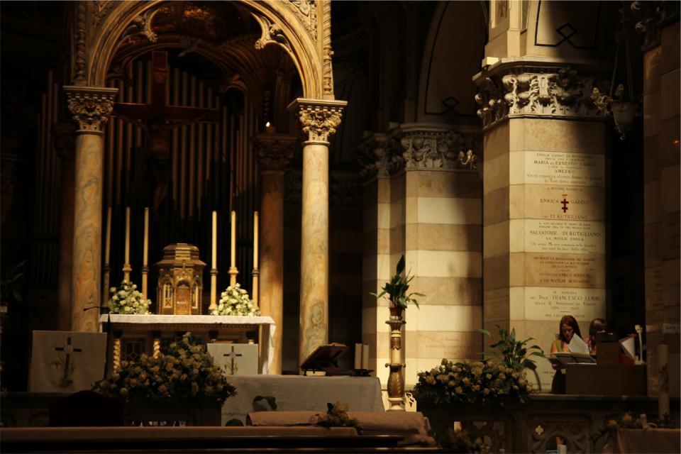 church, architecture, cross, religion, Catholic