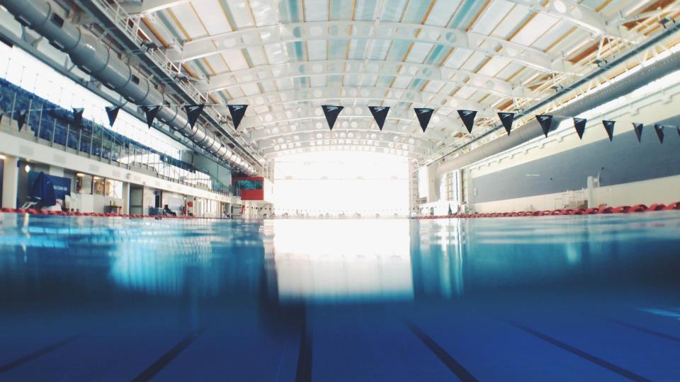 swimming, pool, sport, venue, indoor