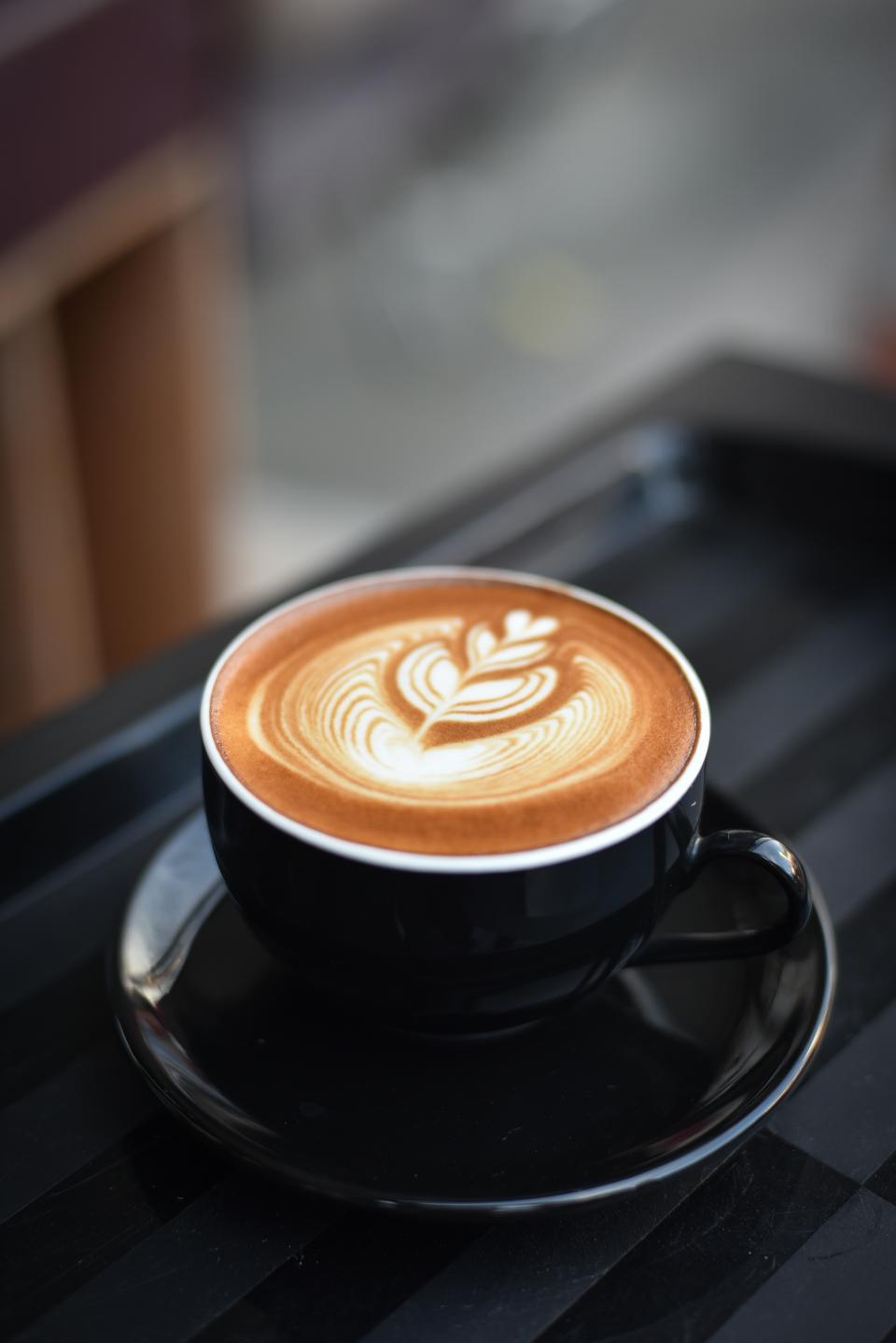 coffee, cafe, hot, mug, cup, white, coffeemaker, shop, restaurant, art, design