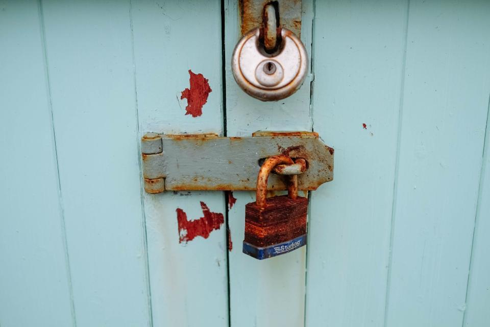 lock, locked, door