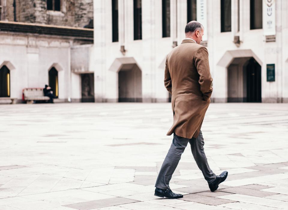 people, man, coat, formal, classy, old, architecture, building, establishment, windows