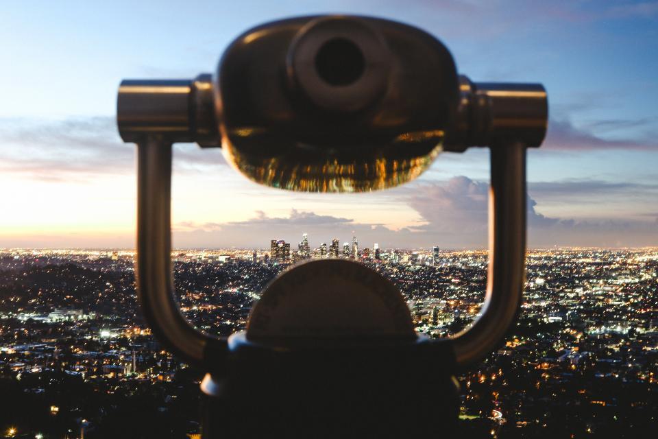architecture, building, infrastructure, structure, establishment, apartment, windows, condominium, hotel, urban, city, clouds, sky, aerial, telescope