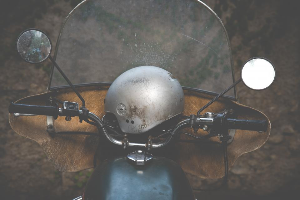 motor, motorcycle, side mirror, helmet, vehicle, ride, travel, outdoor