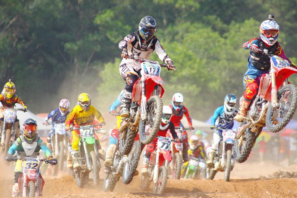 motocross, race, sport, game, motorcycle, vehicle, outdoor, people, men
