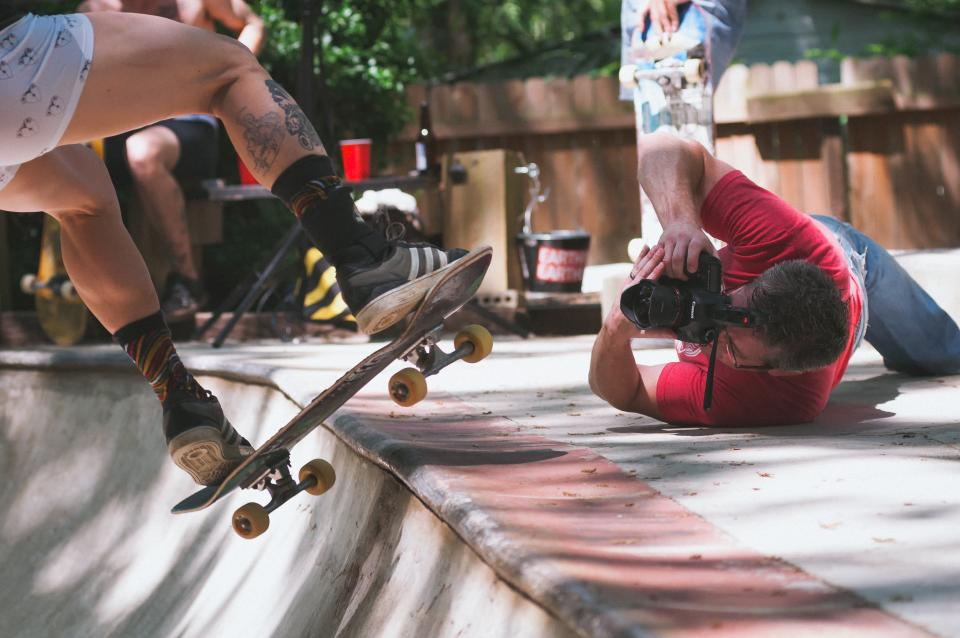 skateboard, people, skateboarding, games, sports, photographer, camera, outdoor, adventure