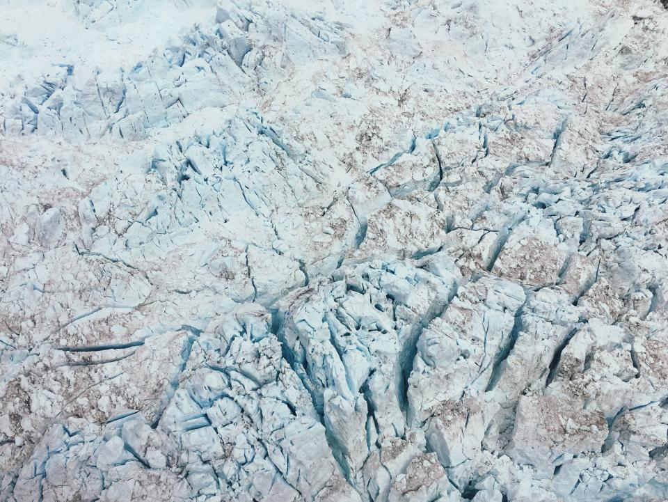 rock, formation, white, crack, ground, travel, adventure, aerial