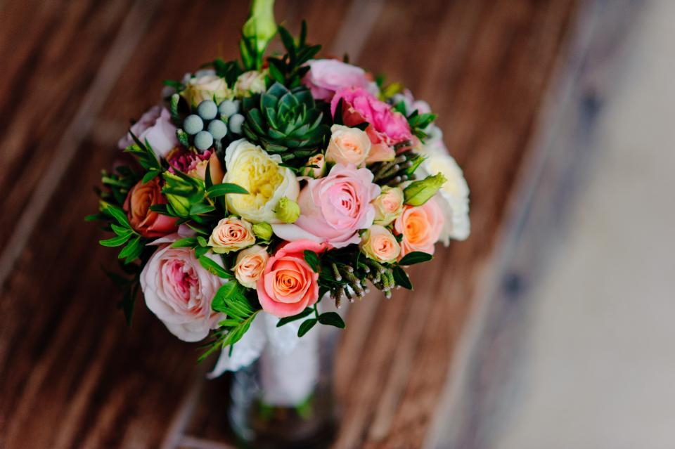 flower, bouquet, petal, roses, nature, vase, colorful, blur